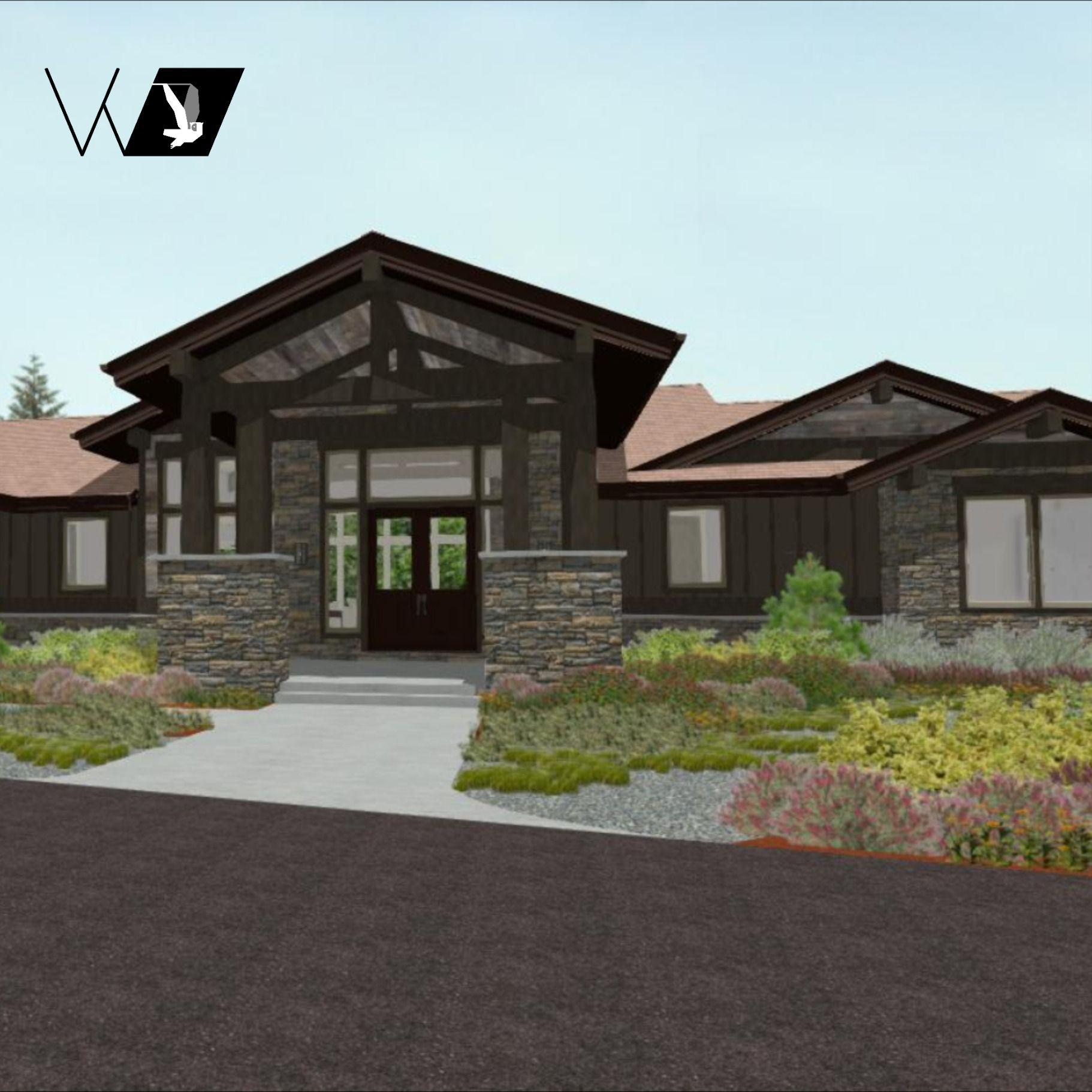 19 Stunning Small Luxury Home Design For You Prairie Style Houses Small Luxury Homes Luxury House Designs