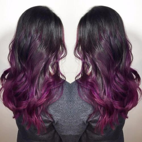 50 Purple Ombre Hair Ideas Worth Checking Out Hair Pinterest