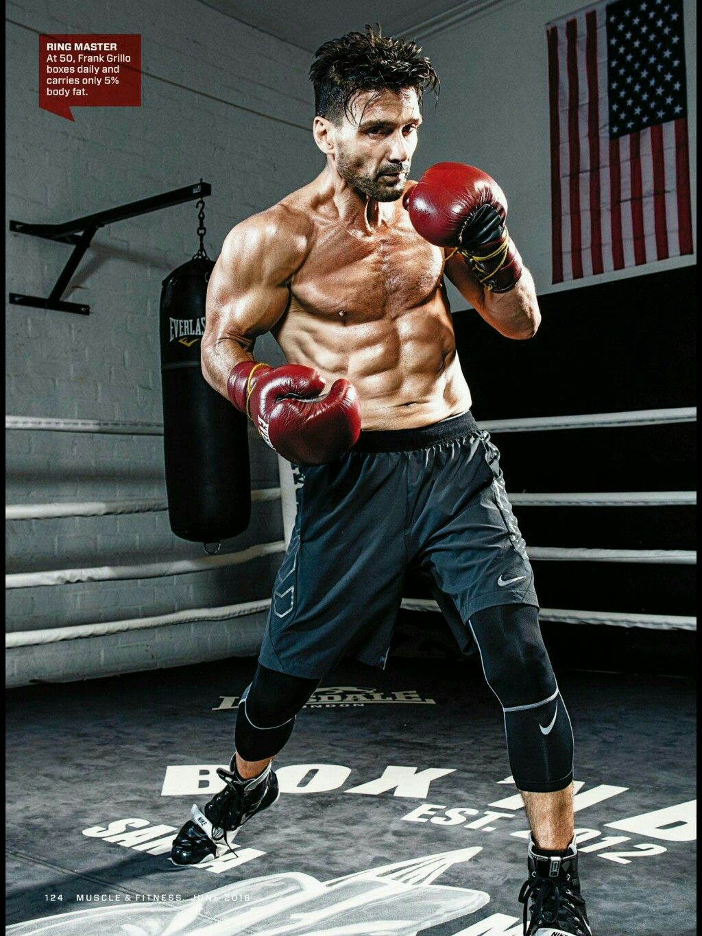 Frank Grillo is 51 and is in better shape than most 20