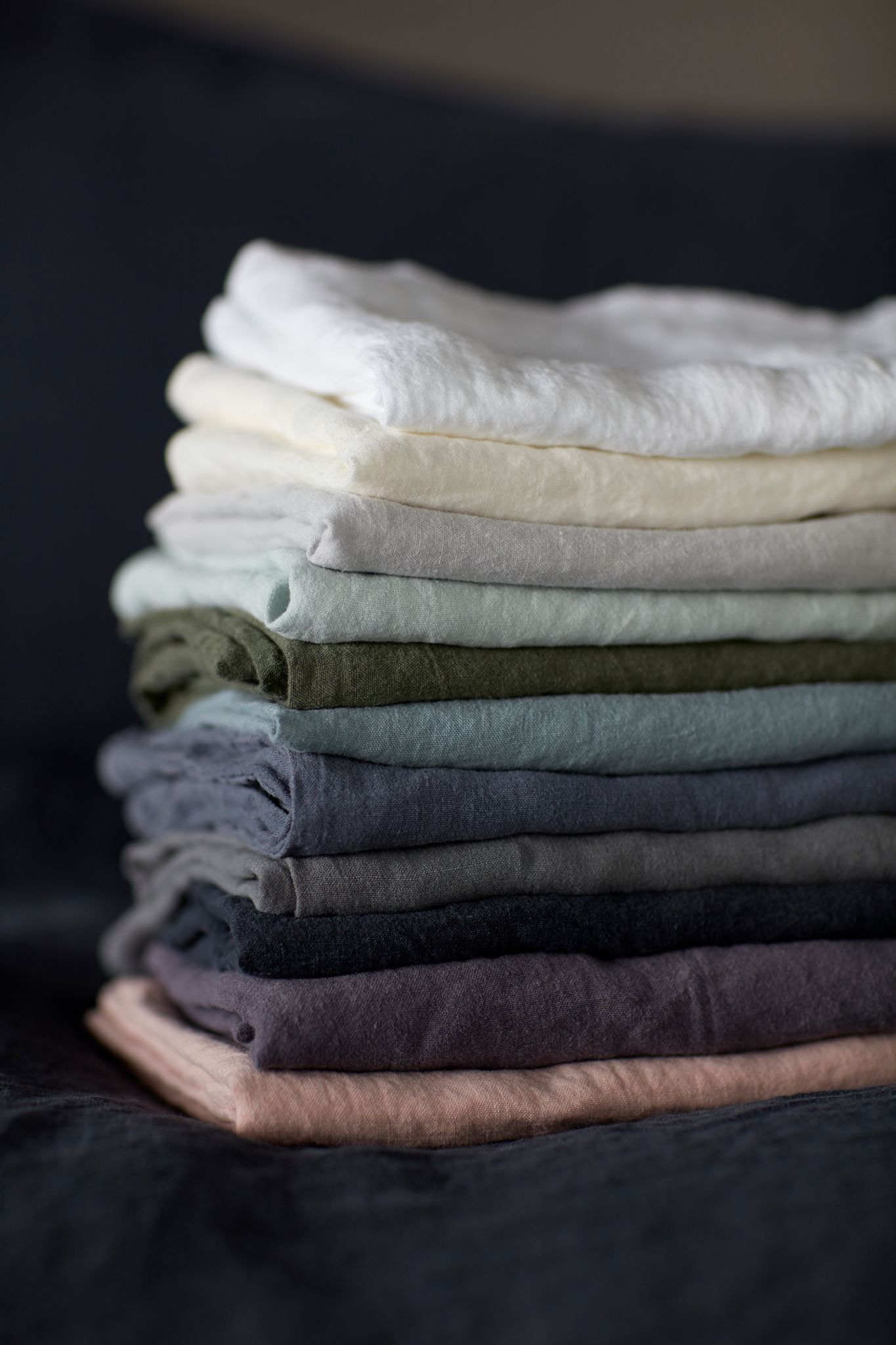 Our Divine Collection Of Linen Bedding In The Most Beautiful Colour