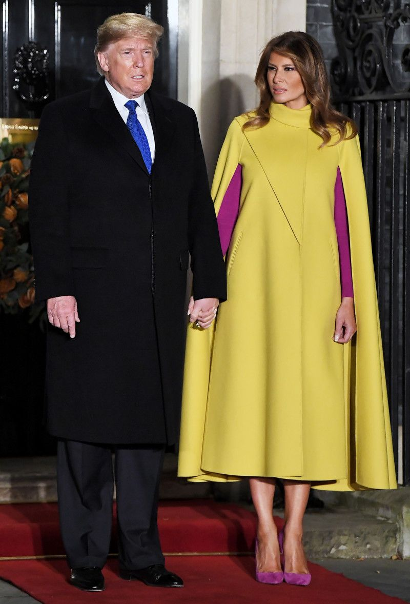 Melania Trump Rings In The New Year Wearing A 4 740 Givenchy Dress Milania Trump Style Trump Fashion Givenchy Dress