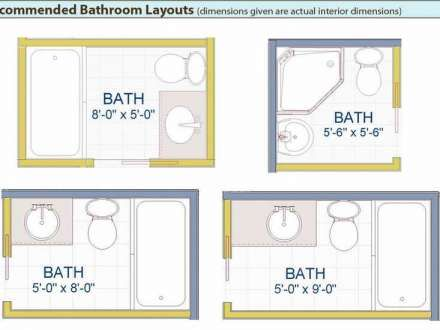 Bathroom Layouts For Corner Tub