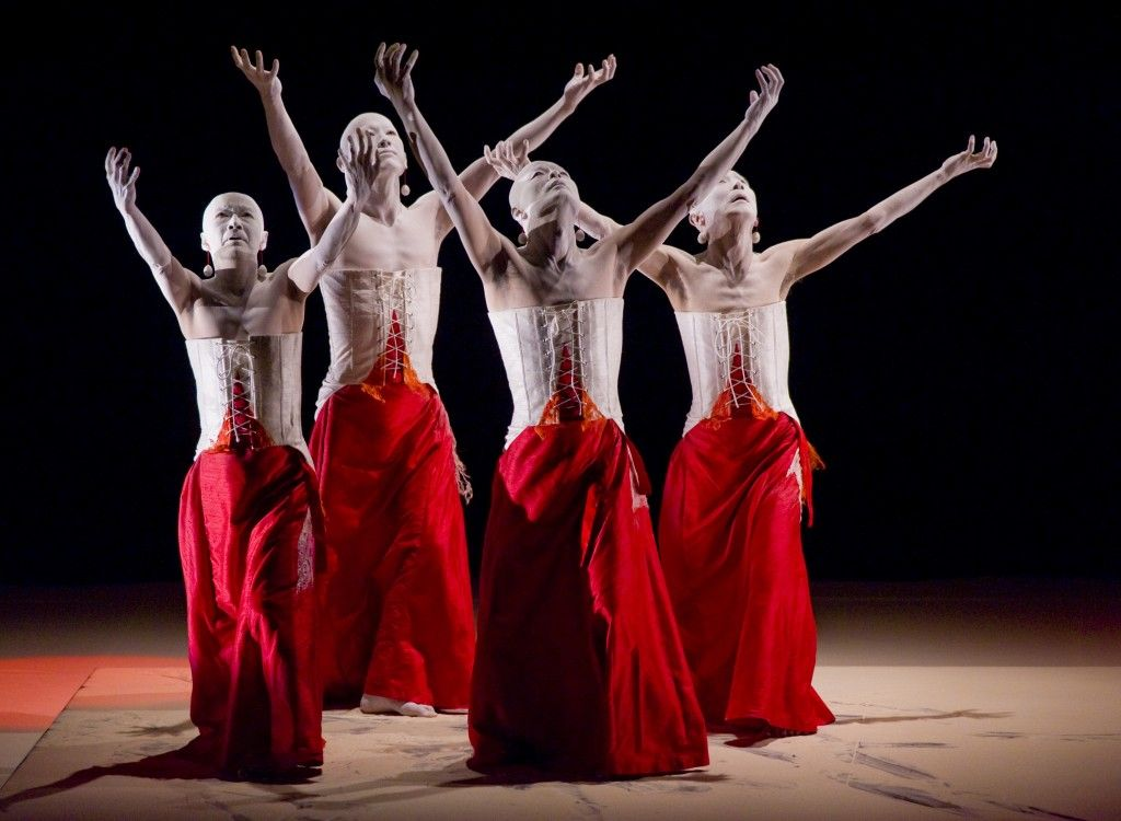 Sankai Juku (山海塾?) is an internationally known butoh dance troupe. Co-founded by Amagatsu Ushio in 1975, they are touring worldwide, performing and teaching. As of 2010, Sankai Juku had performed in 43 countries and visited more than 700 cities.
