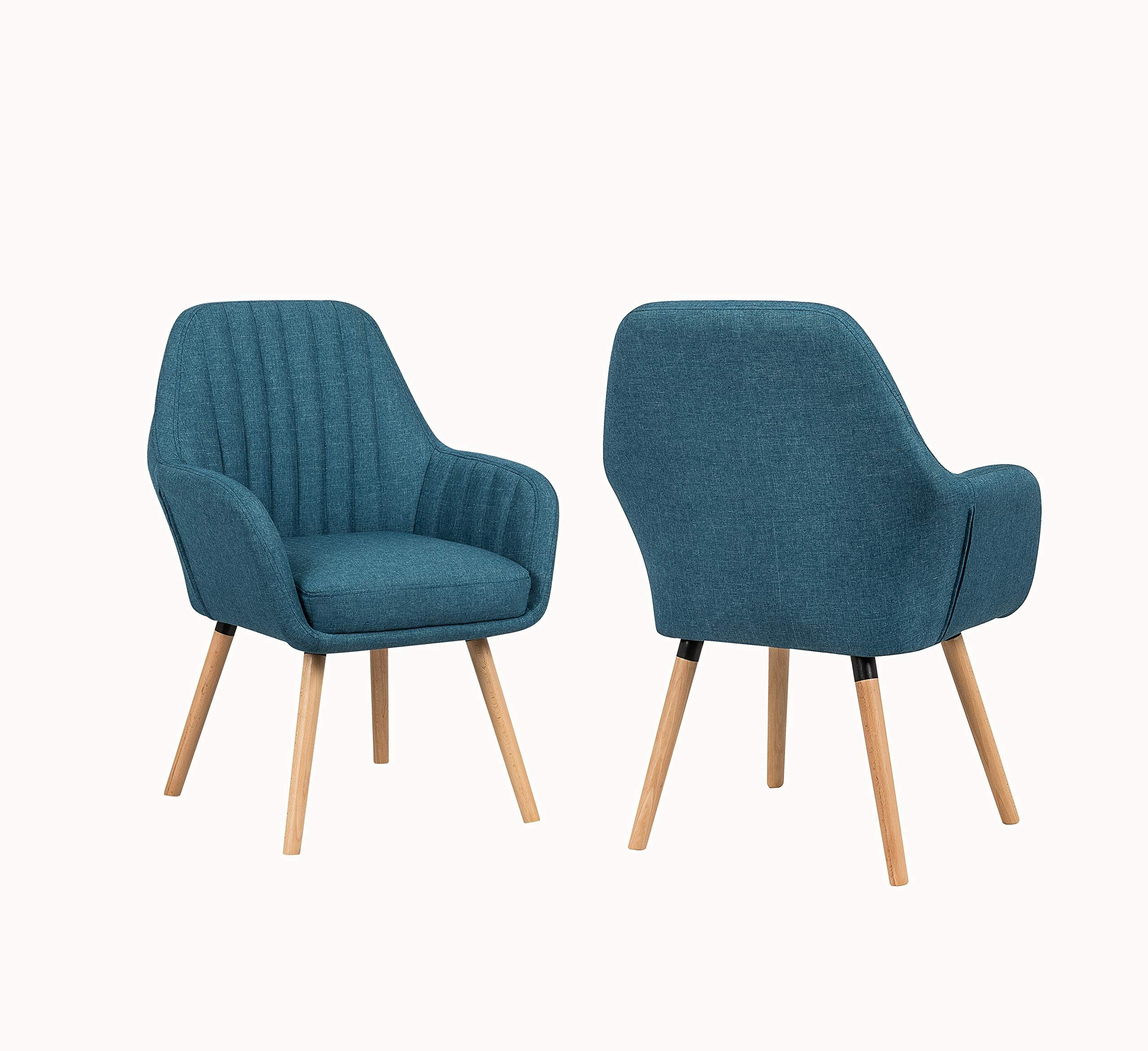 Cool Yeefya Contemporary Modern Muted Fabric Accent Arm Chair And Caraccident5 Cool Chair Designs And Ideas Caraccident5Info
