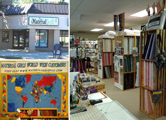 The Material Girls Quilt Shop Dearborn Michigan | Online Fabric ... : quilt shops online - Adamdwight.com