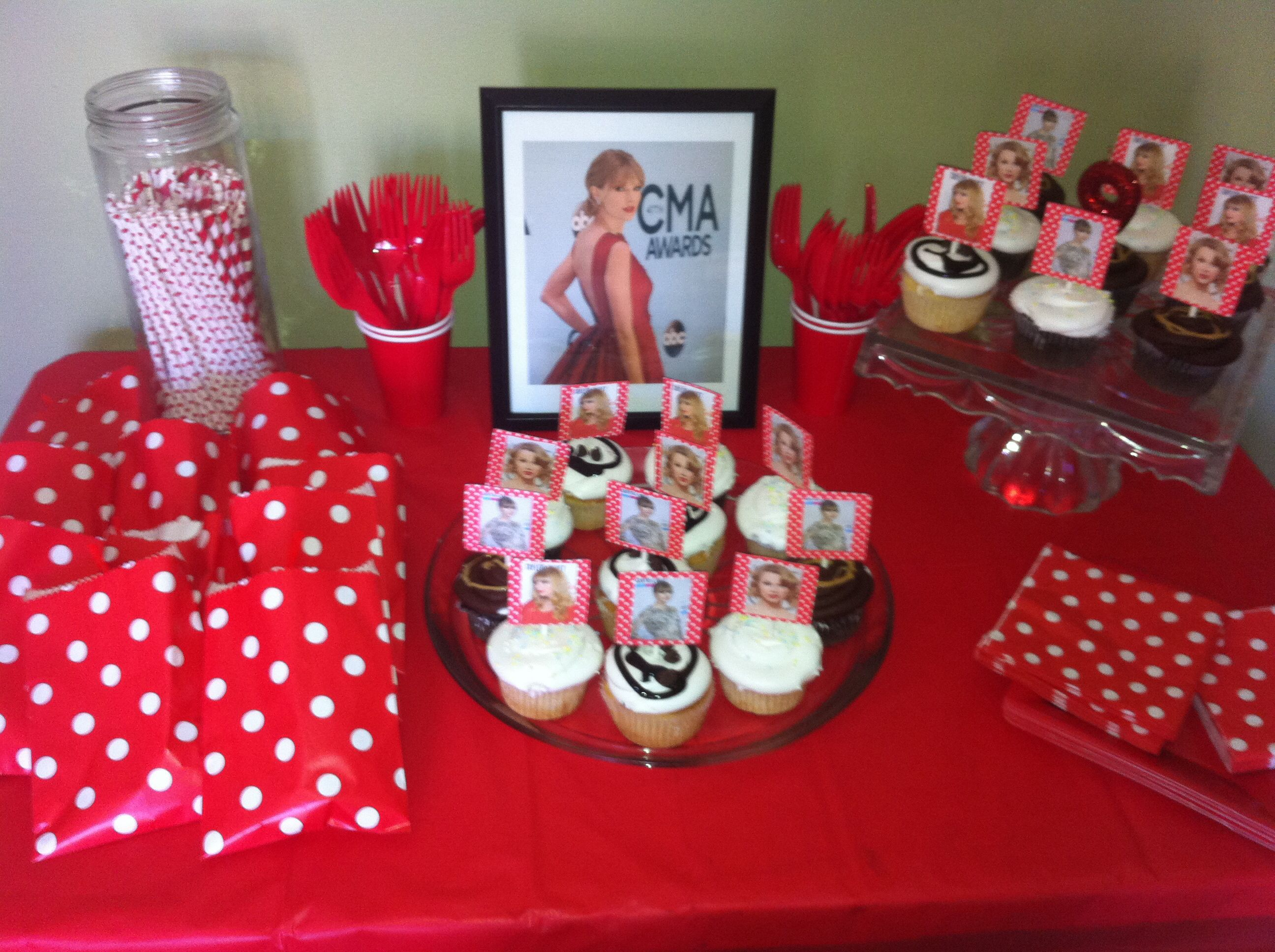 How to throw a Taylor Swift Birthday Party - these DIY party ideas ...