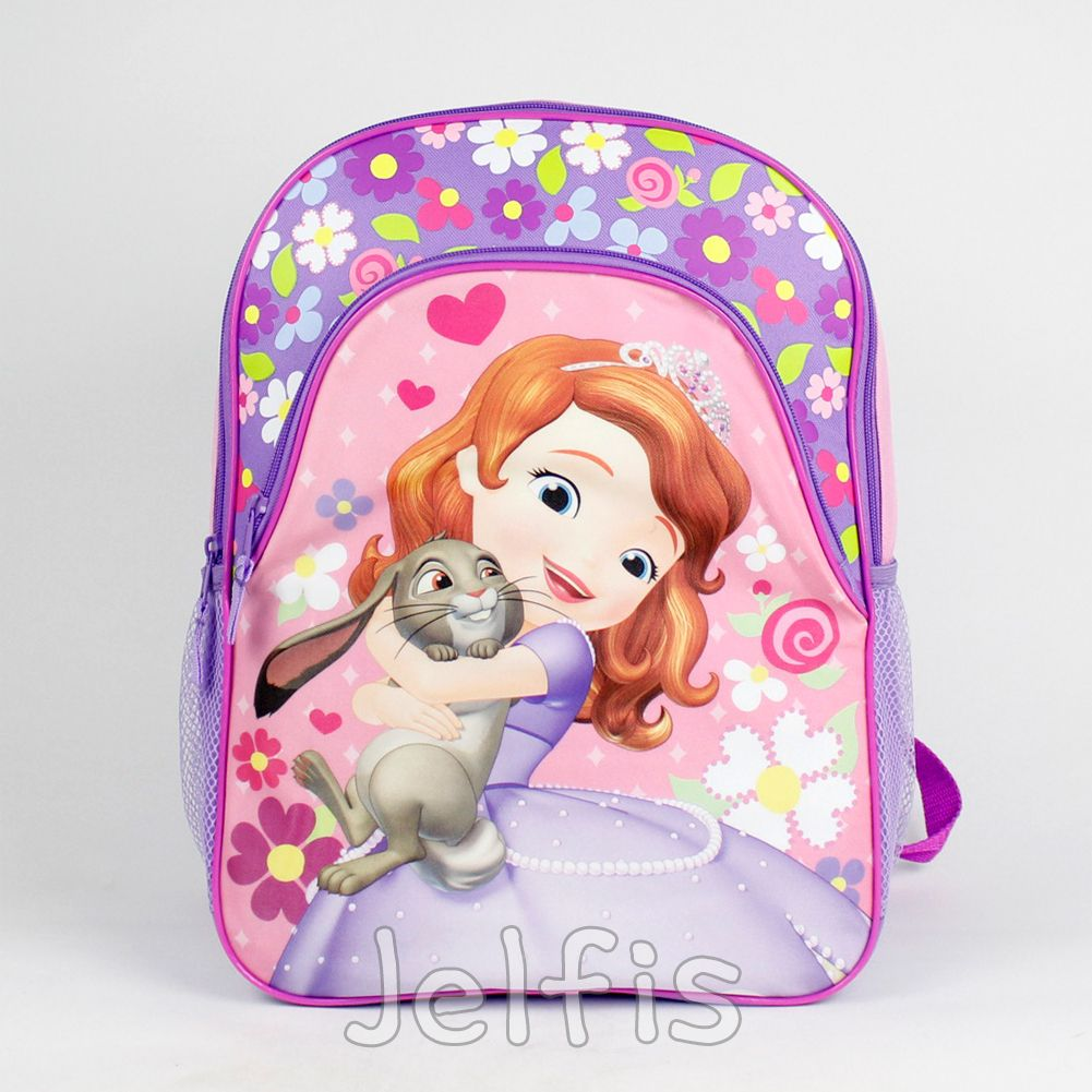 61613d3e148 Jelfis.com - Sofia the First Large Backpack - Bunny Hug Flowers 16