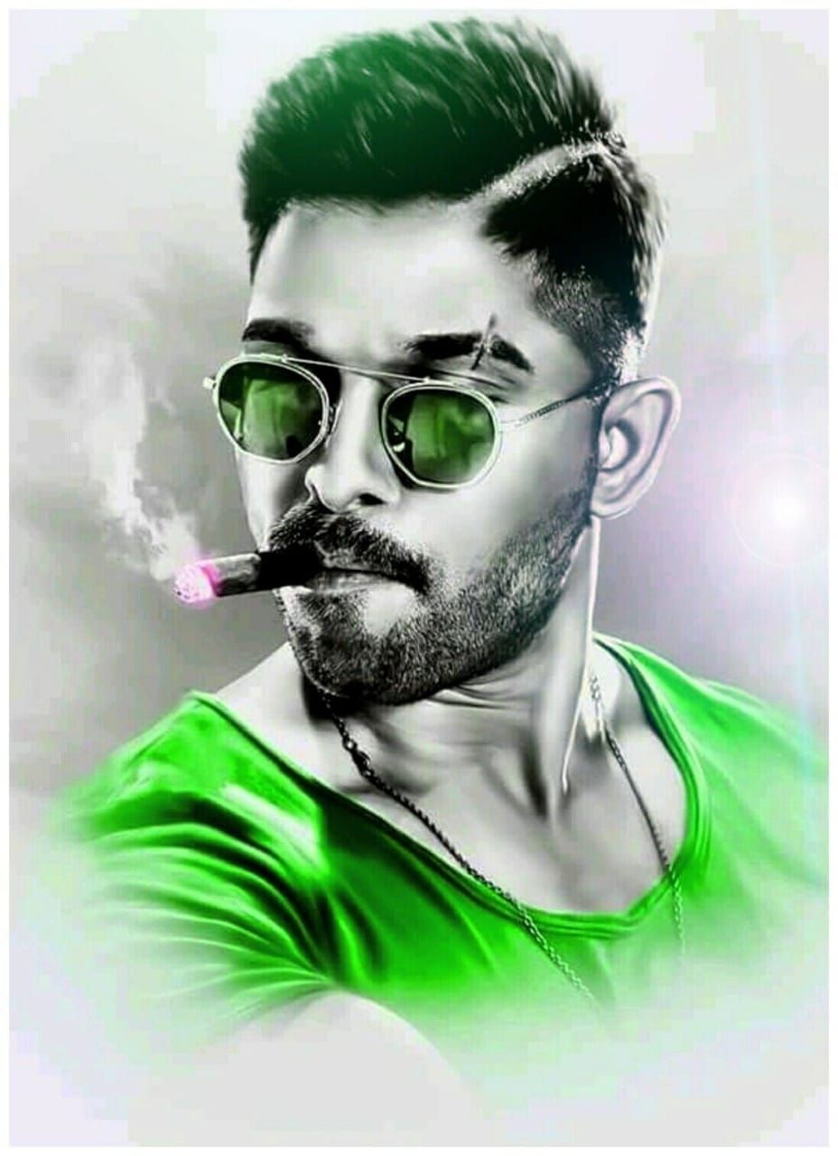 New Trending Allu Arjun Amazing Pic Collection 2019