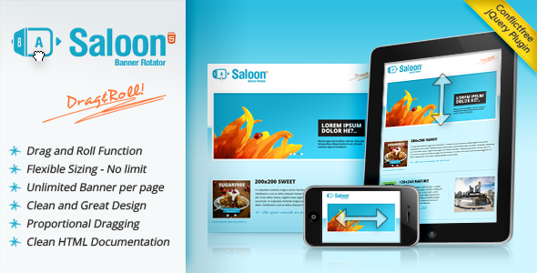 Saloon - The jQuery Banner Rotator Plugin   Code-Scripts-and-Plugins ...