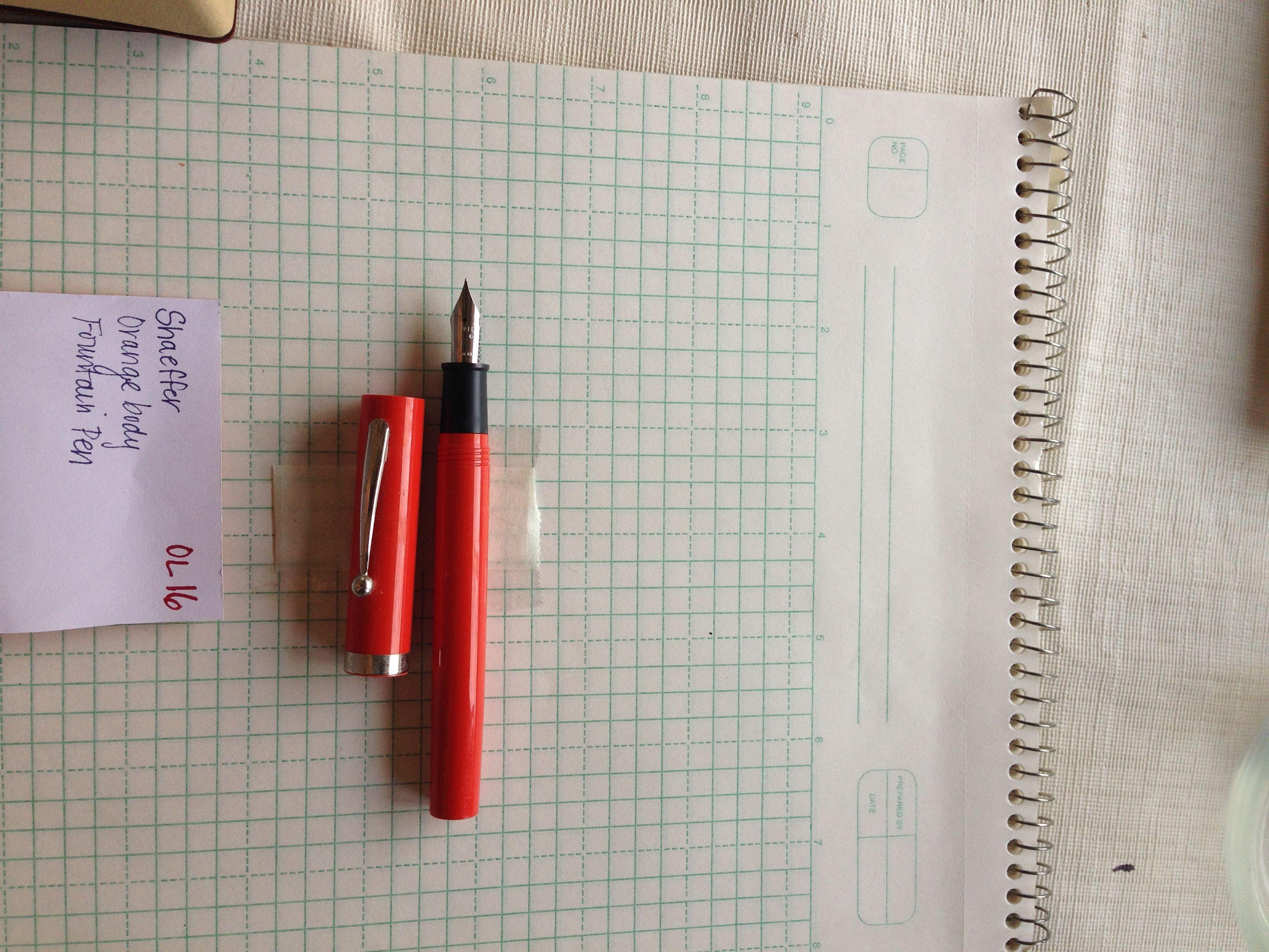 dating sheaffer fountain pens