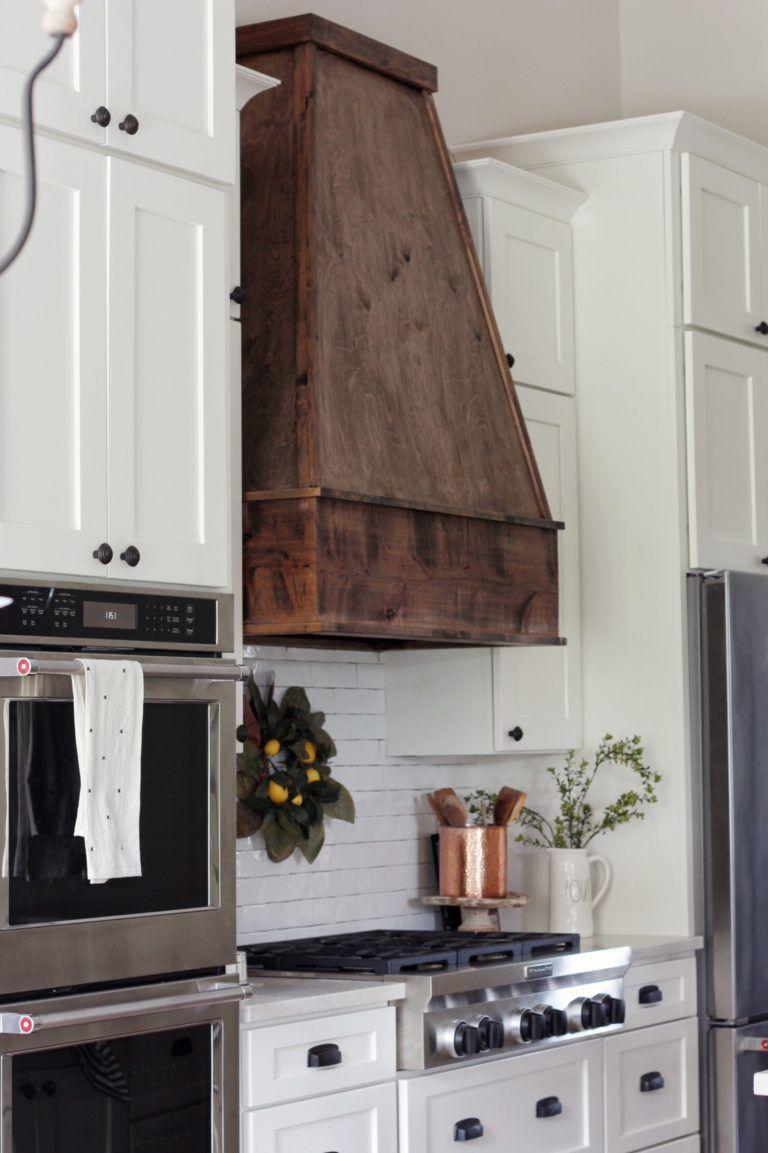 Diy wood hood vent wood hood vent kitchen vent hood