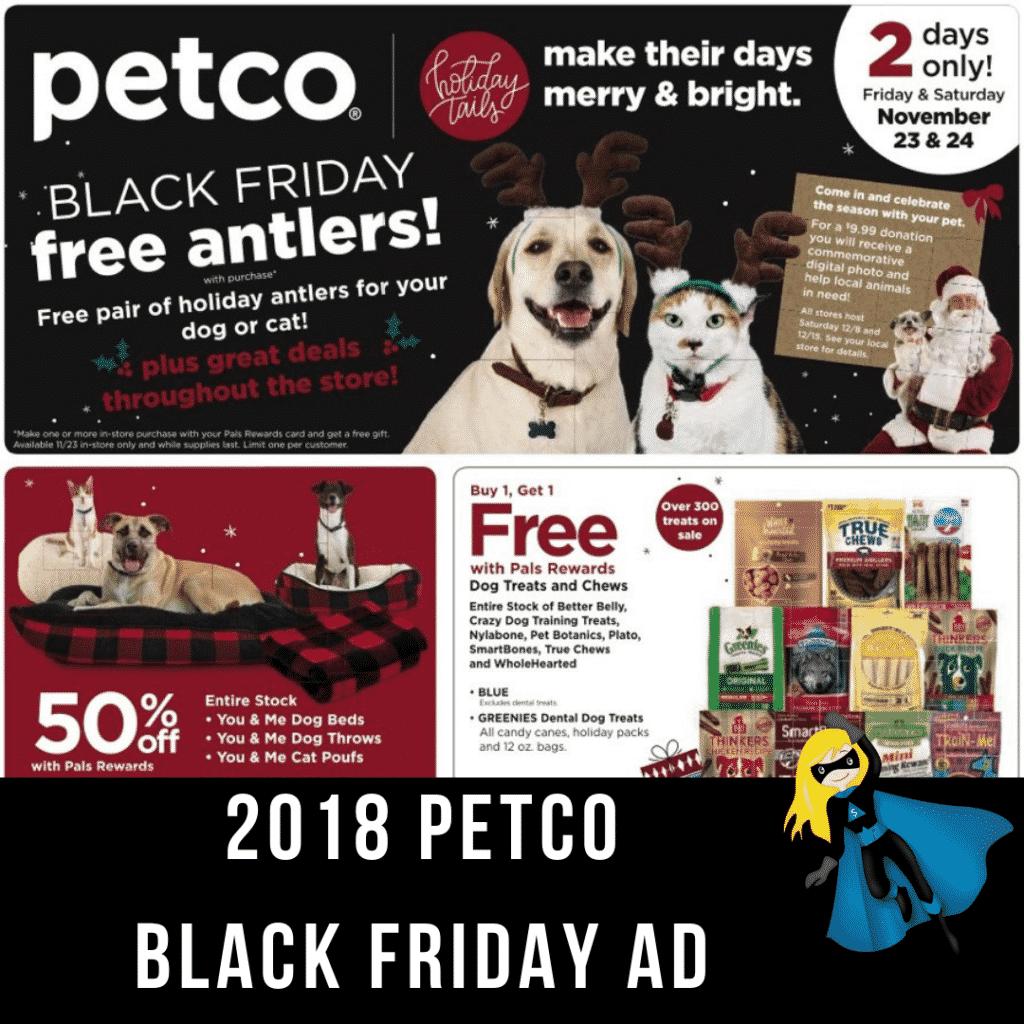 2018 Petco Black Friday Ad Scan Black Friday Ads Petco Black Friday