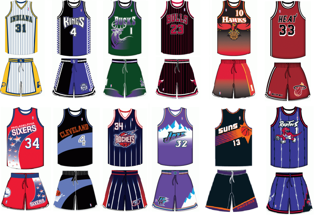 NBA teams are going to 1990s throwbacks this upcoming season  bedcb26bc