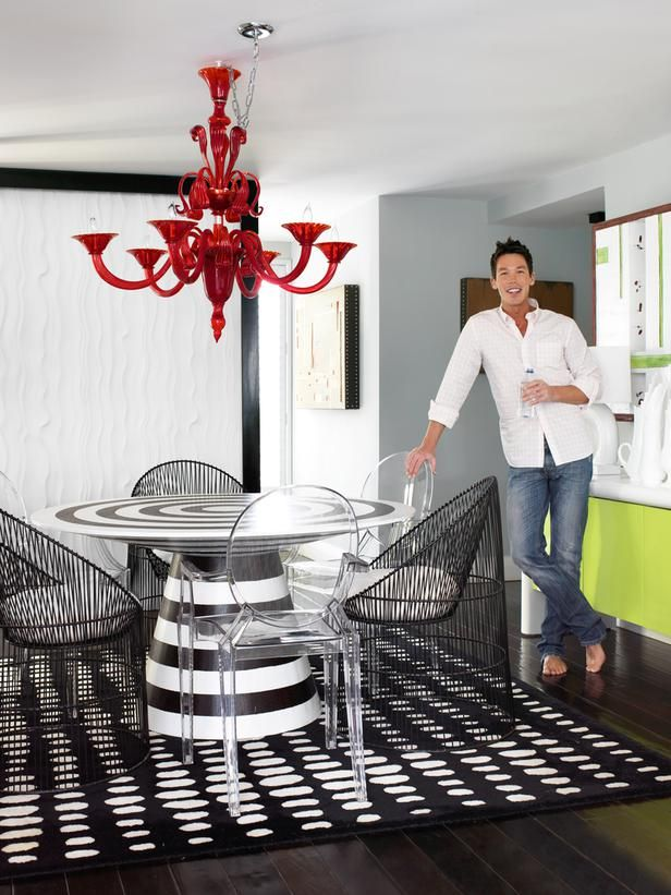 David Bromstad, host of Color Splash, lives in a one-of-a-kind Miami condo. Take a tour!