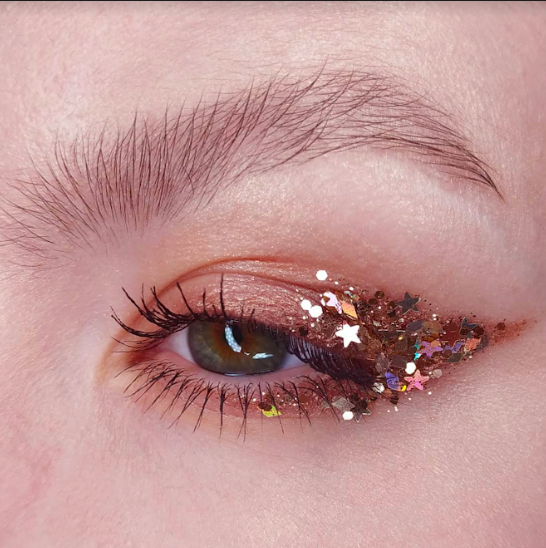 Gold Lileth Chunky Glitter by In Your Dreams