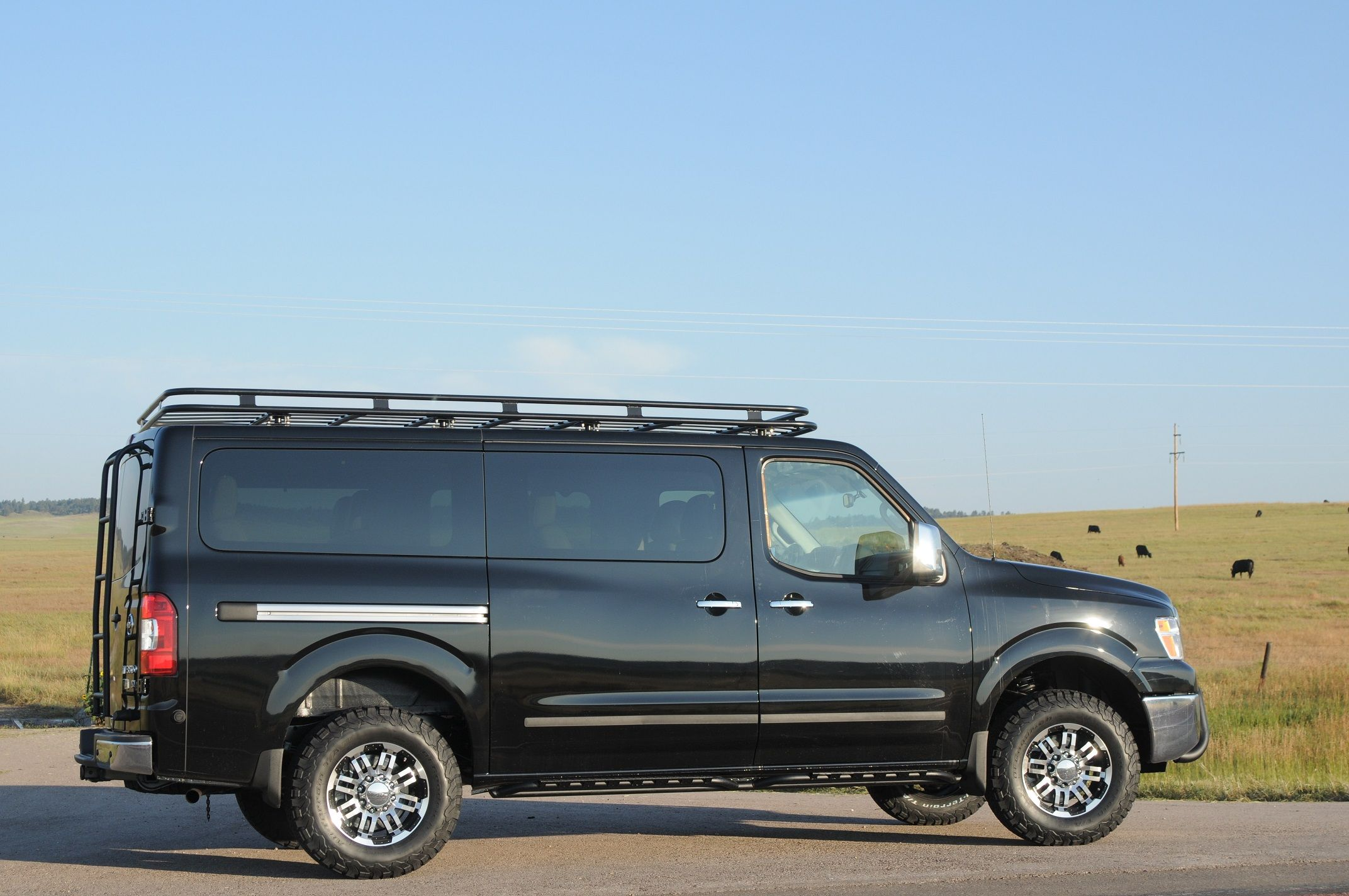 Nissan NV 3500, 4x4 installed by Advanced Four Wheel Drive systems