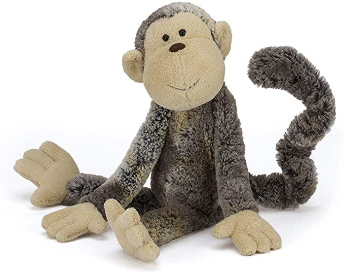 Jellycat Mattie Monkey Stuffed Animal, Medium
