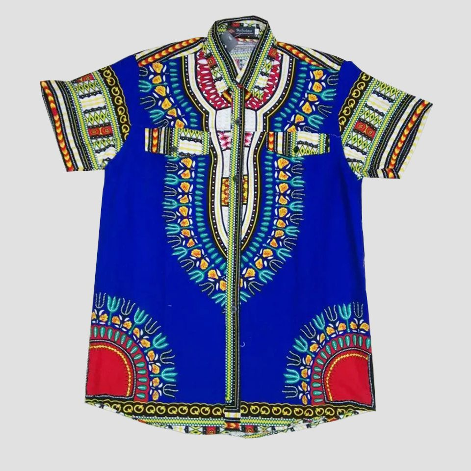 Latin American Men's Guayabera Shirt - made in Tlahuitoltepec Mexico  embroidered