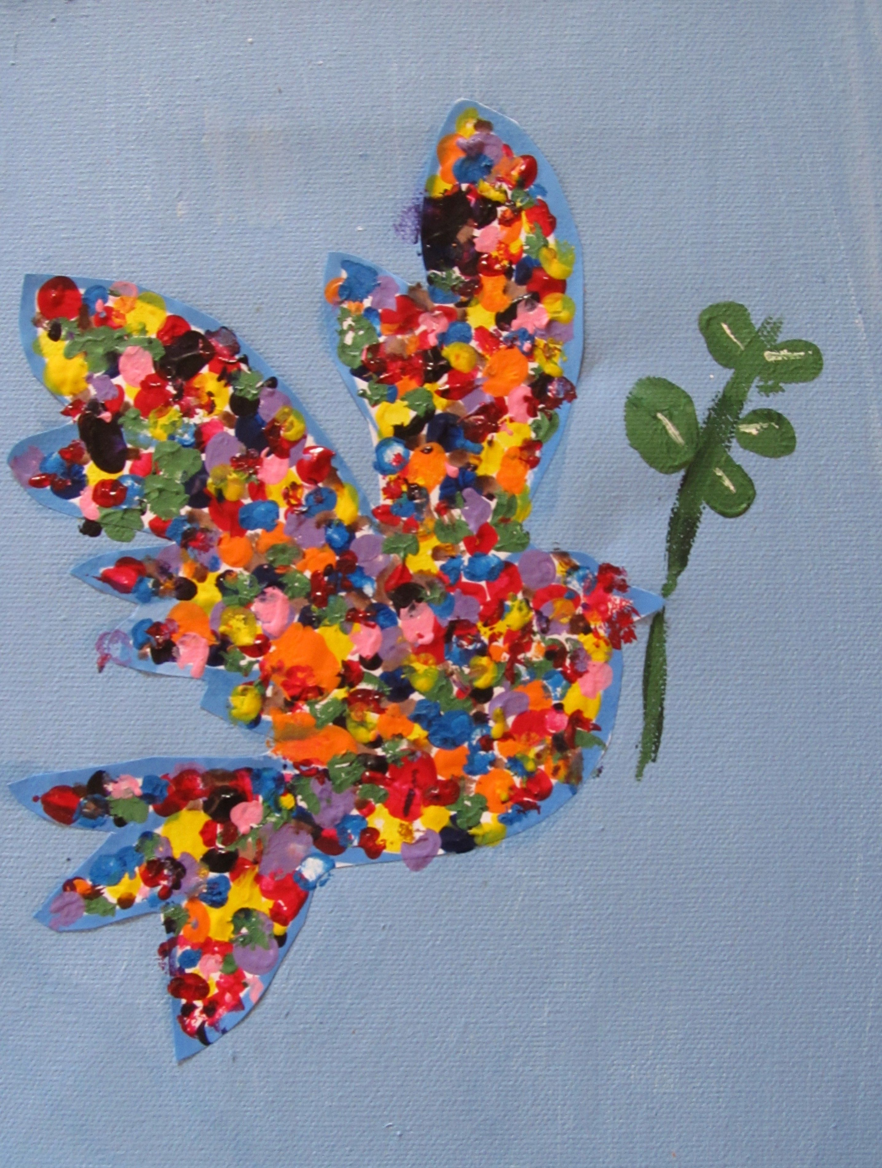 Peace Art Projects For Kids Mlk Peace Dove Craft Art
