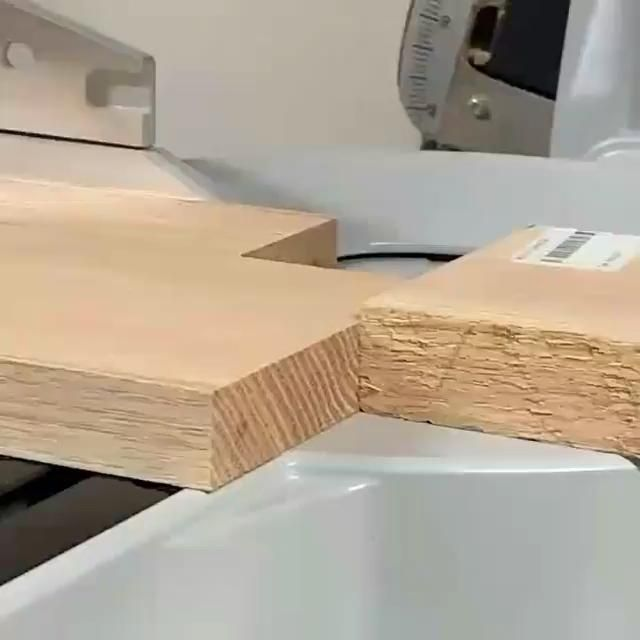Tenon joints are really strong and stable and can be used in a vast amount of projects! These are made beautifully! #joinery #carpentry #woodworker #woodworkingideas