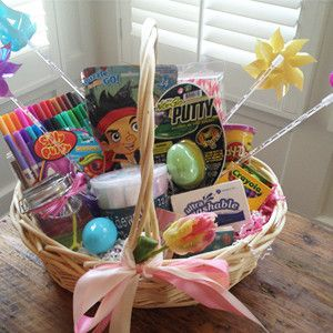 Easter basket ideas without candy easter pinterest basket easter basket ideas without candy negle Choice Image