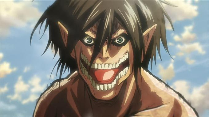 Eren Yeager From Attack On Titan In His Titan Form Attackontitan Titans Erenyeager Eren Attack On Titan Anime Attack On Titan Episodes Attack On Titan