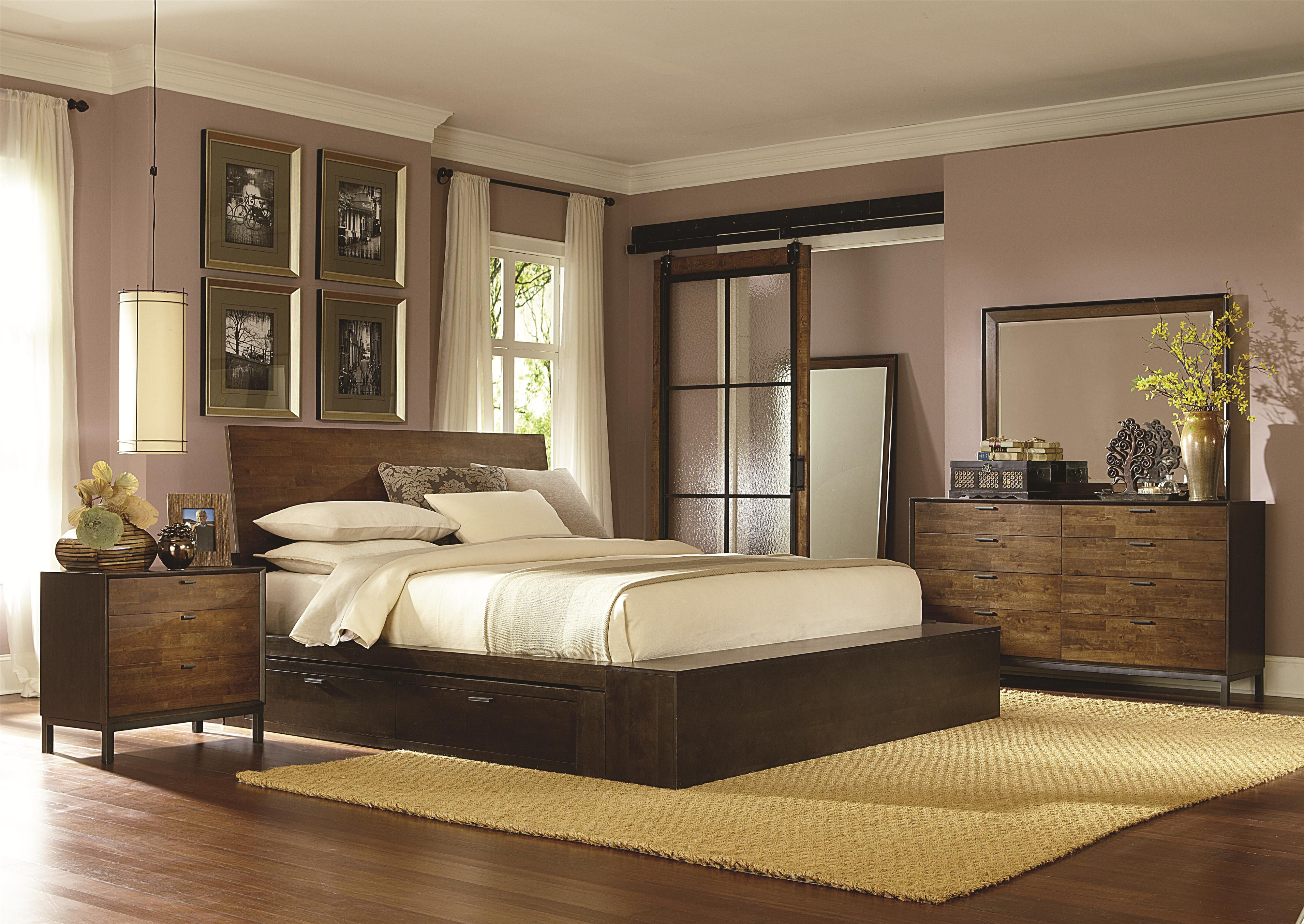 This Beautiful Platform Bed With One Storage Drawer Is The