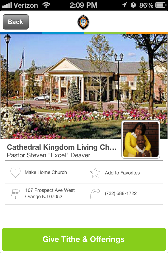 Cathedral Kingdom Living Church In West Orange New Jersey Givelifychurches Church Cathedral Place Of Worship