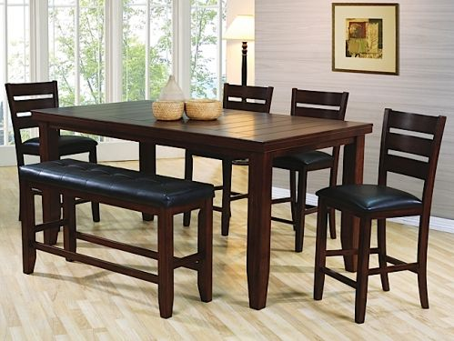 Bardstown counter set w 6 chairs rothman furniture home bardstown counter set w 6 chairs rothman furniture watchthetrailerfo