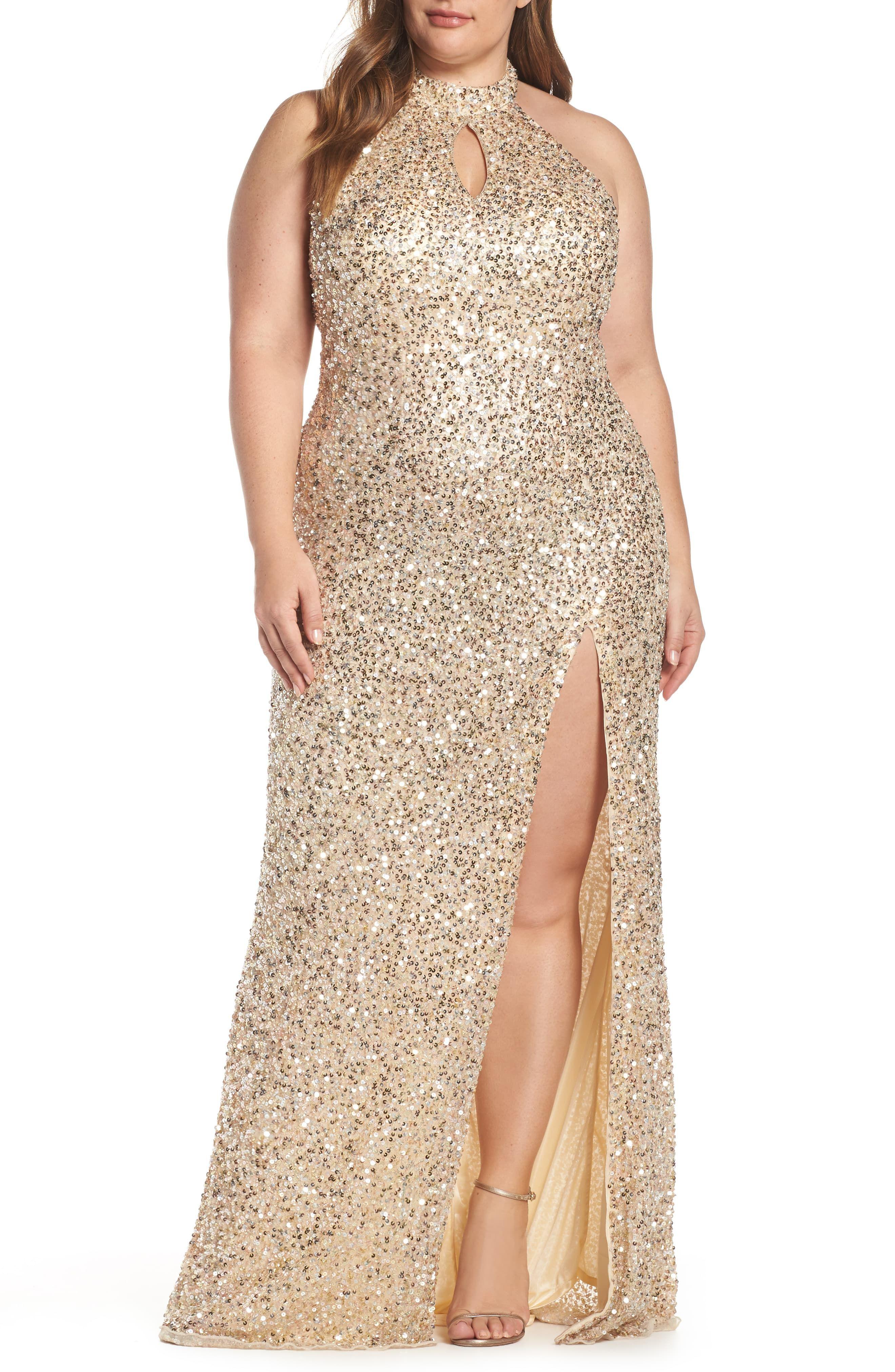 Mac Duggal Sequin Mesh Evening Dress Plus Size Nordstrom In 2021 Evening Dresses Plus Size Evening Dresses Dresses [ 4048 x 2640 Pixel ]