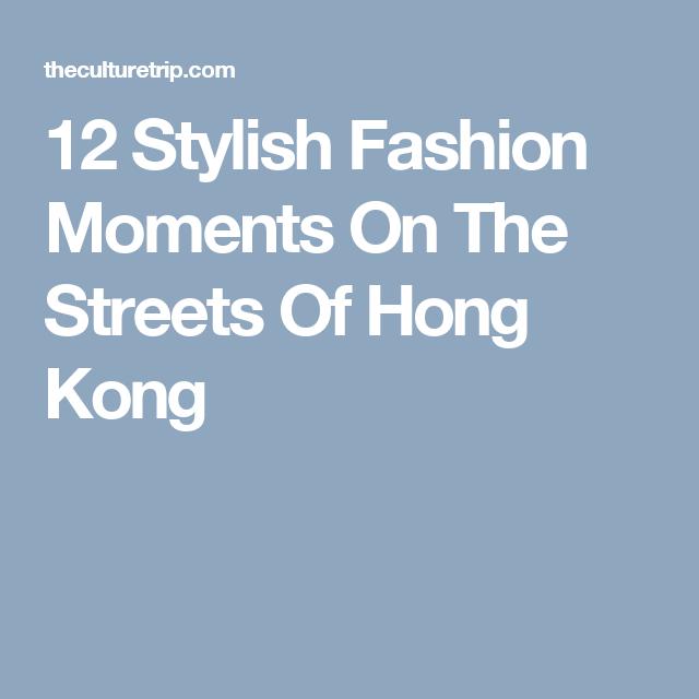 12 Stylish Fashion Moments On The Streets Of Hong Kong