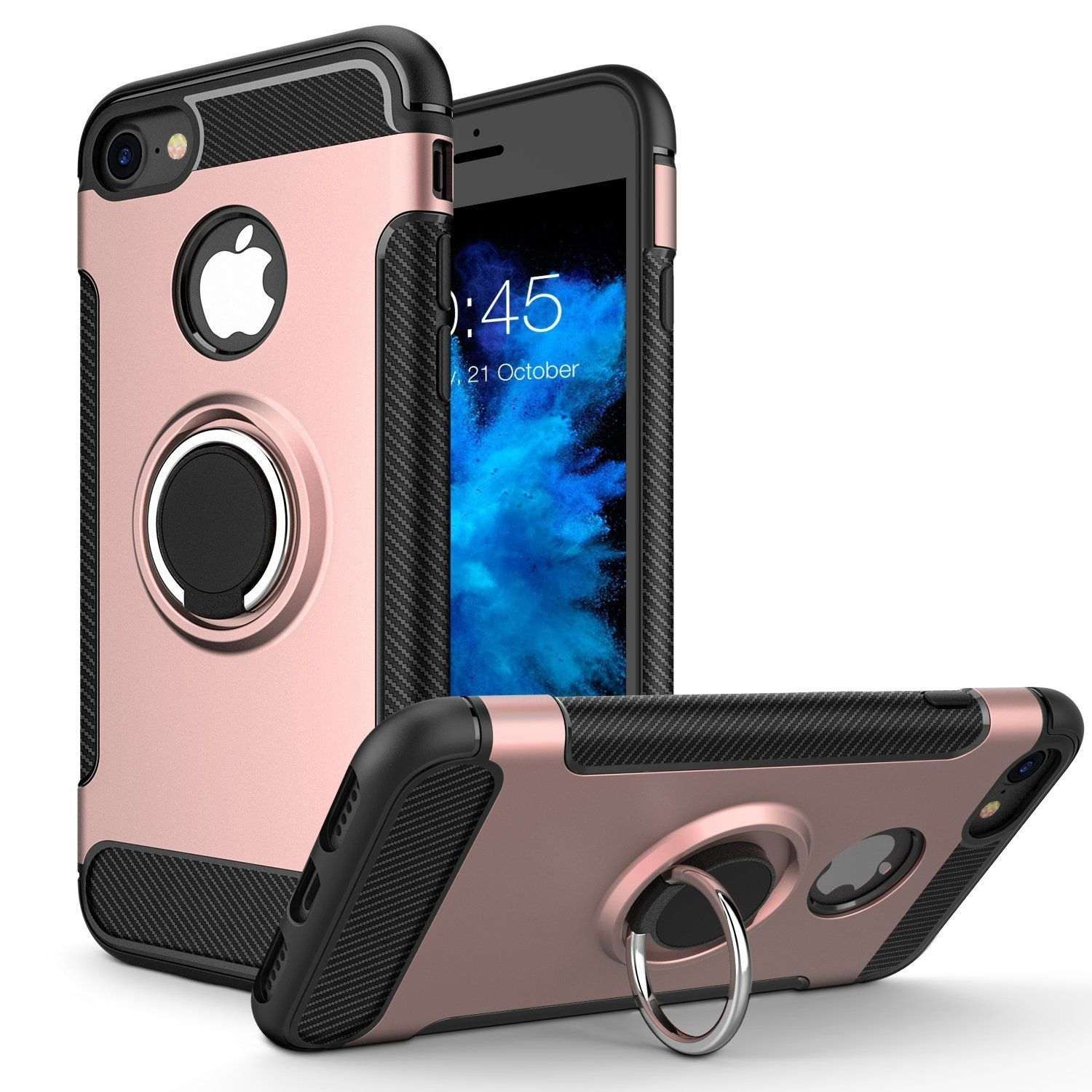 Iphone 8 7 Case Iphone 7 8 Ultra Slim Soft Cover Case With Ring