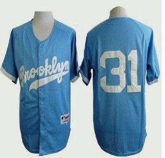 Los Angeles Dodgers  31 Joc Pederson Light Blue Cooperstown Stitched  Baseball Jersey 5b2c672f476