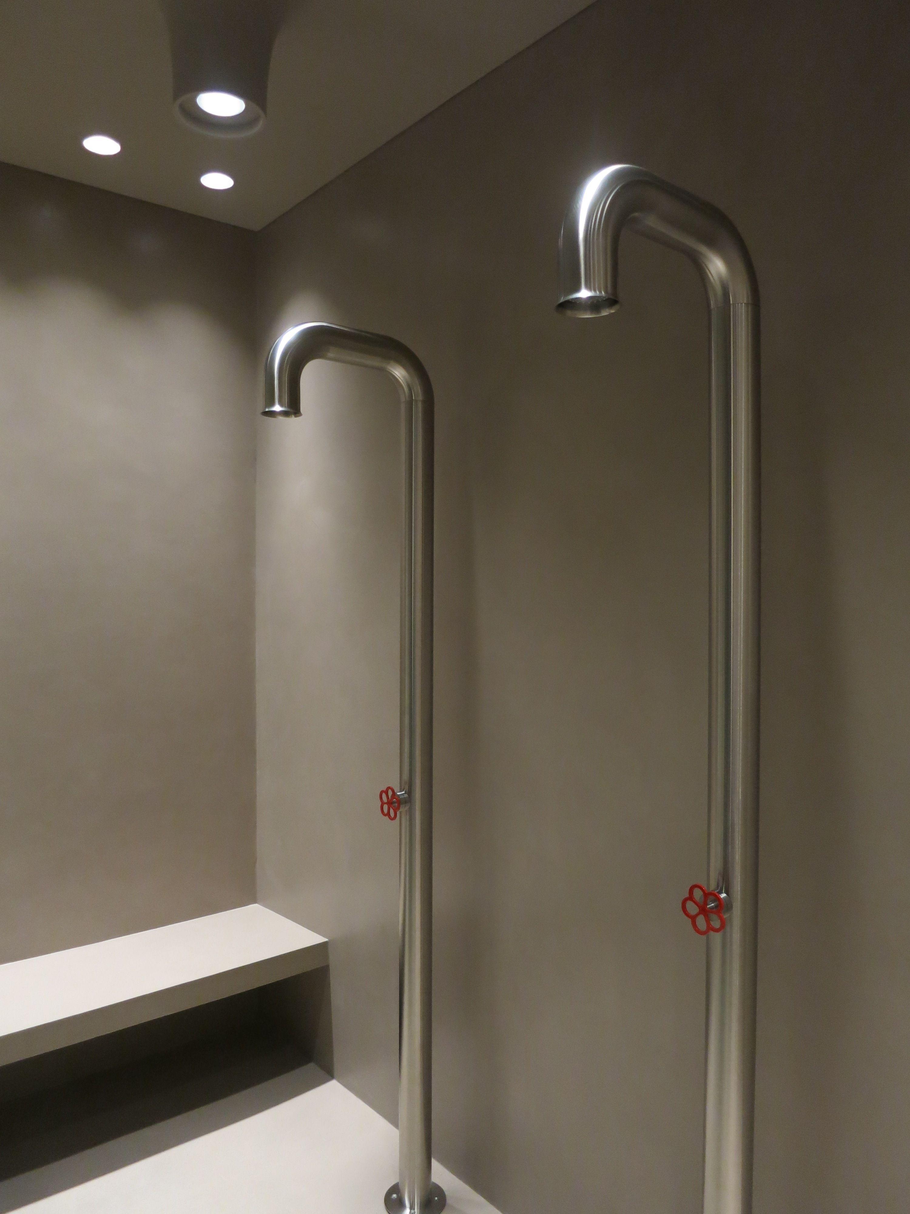 Bathroom shower pipe - Docce Pipe Boffi Rivestimento Resina Www Stanzedautore It