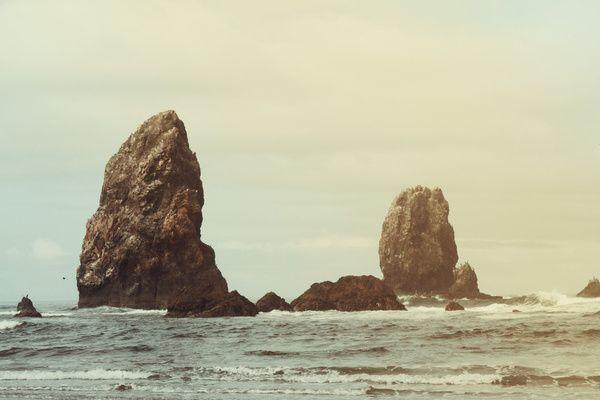 Sea Stacks (Cannon Beach, Oregon) - Lost & Fawned