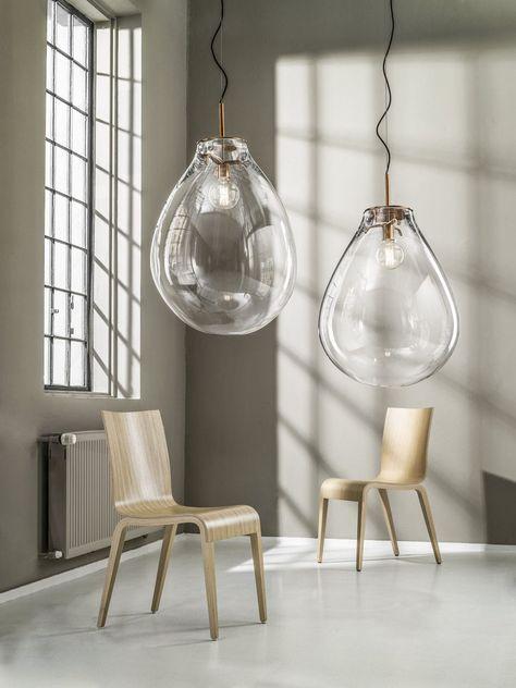 Lampe suspension / contemporaine / en cristal - TIM by Olgoj