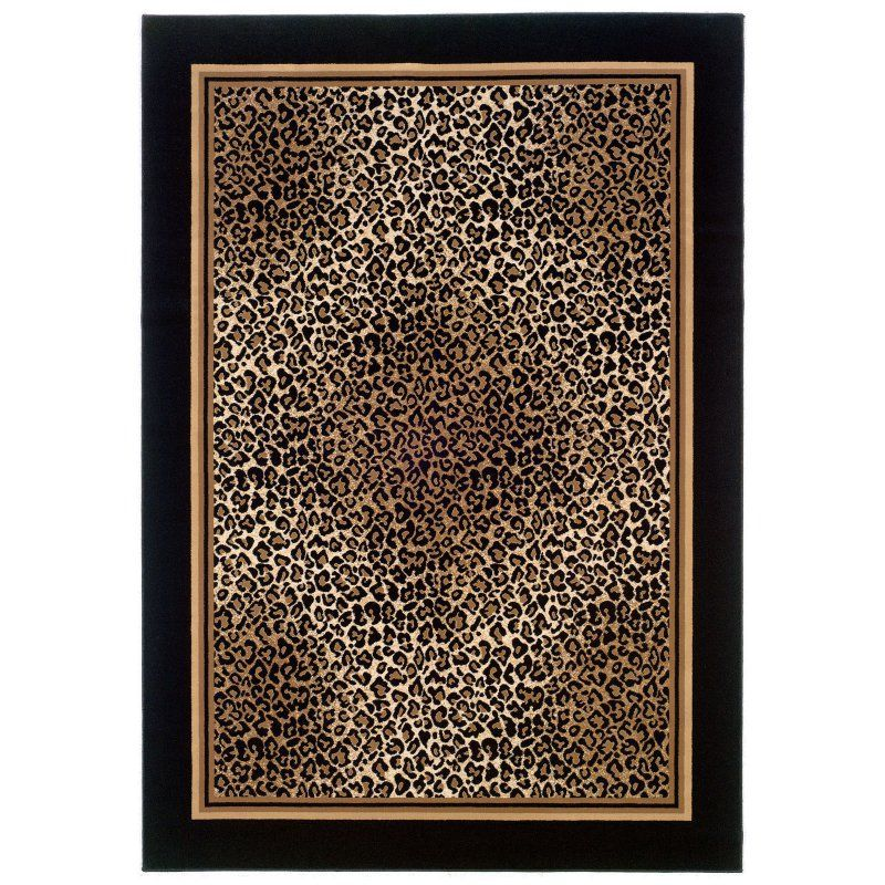 Couristan Everest Leopard Area Rug - 0558/5861-
