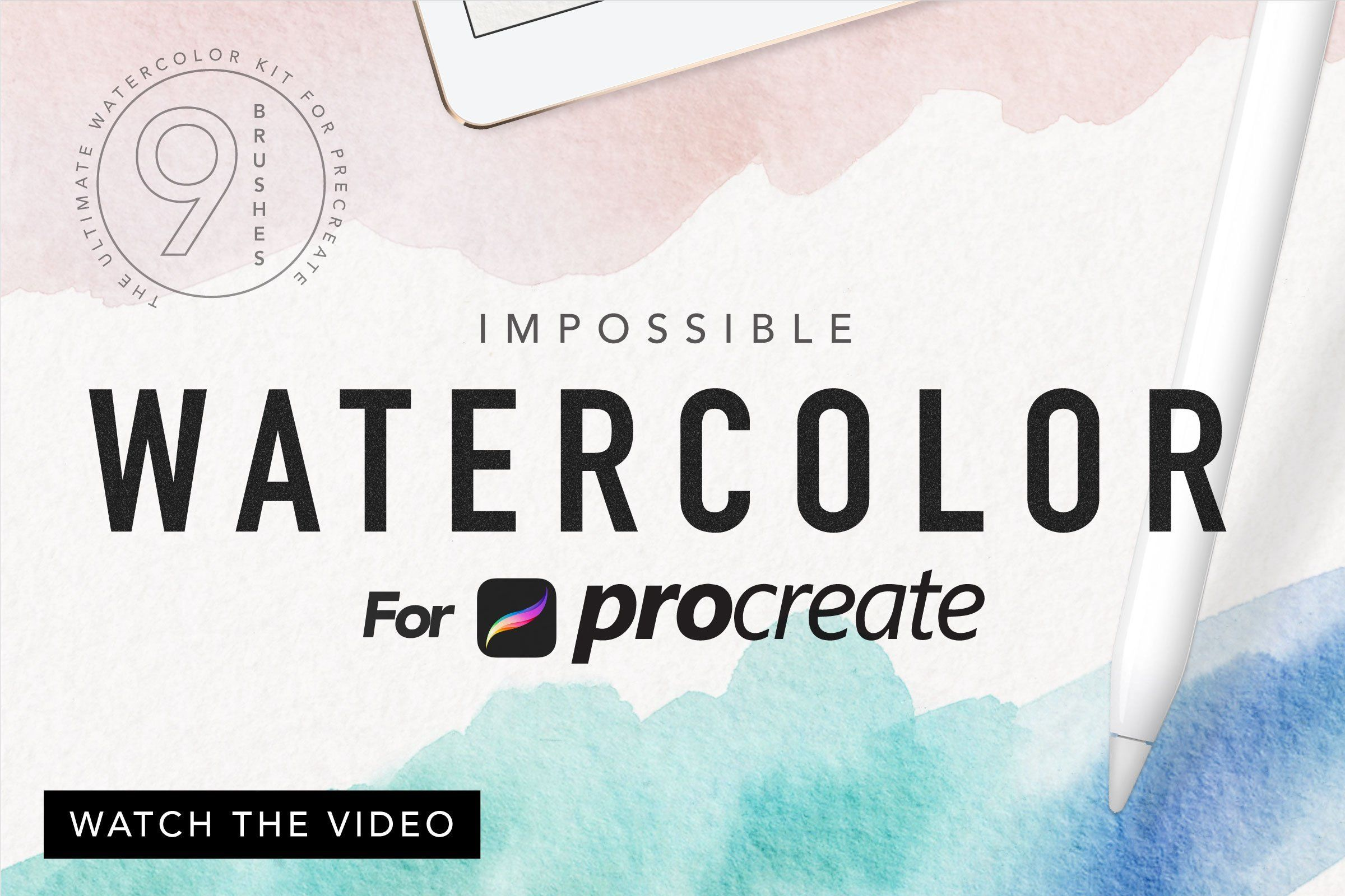 Procreate Watercolor Kit Watercolor Kit Watercolor Paper