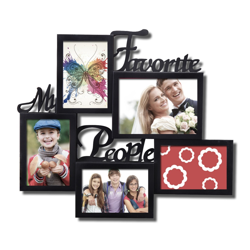 8 X 10 Plastic Picture Frame For Table Or Wall Matted To 5 X 7