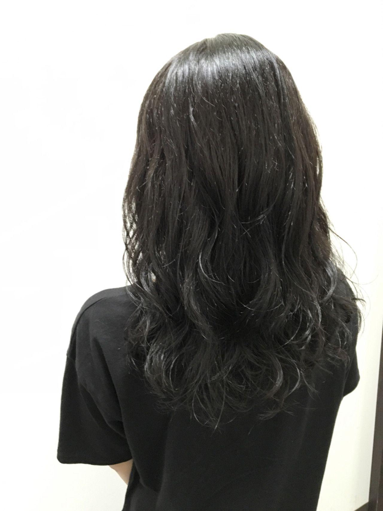 黒髪 アッシュでうるっうるの透明感ヘアに変身しましょ ヘア