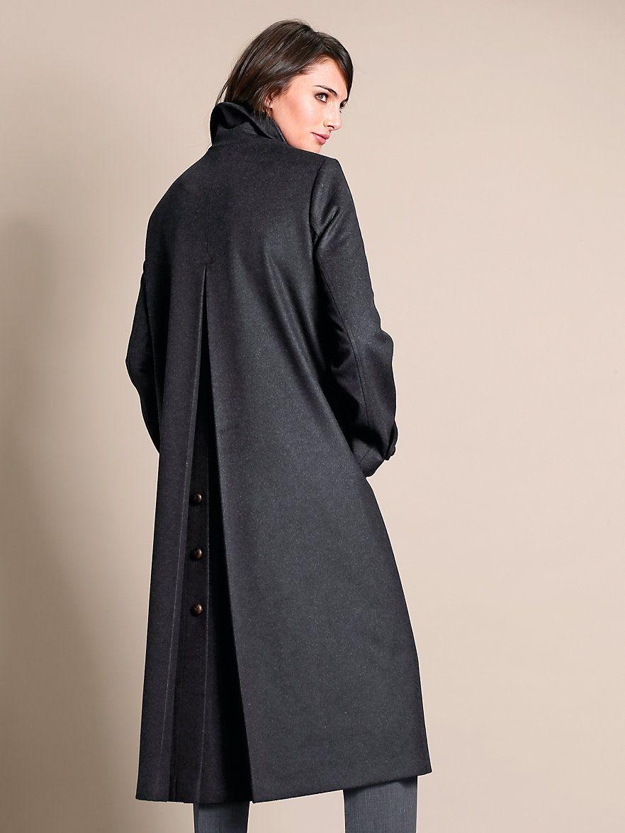 Schneiders Salzburg Loden coat anthracite mélange   Coat