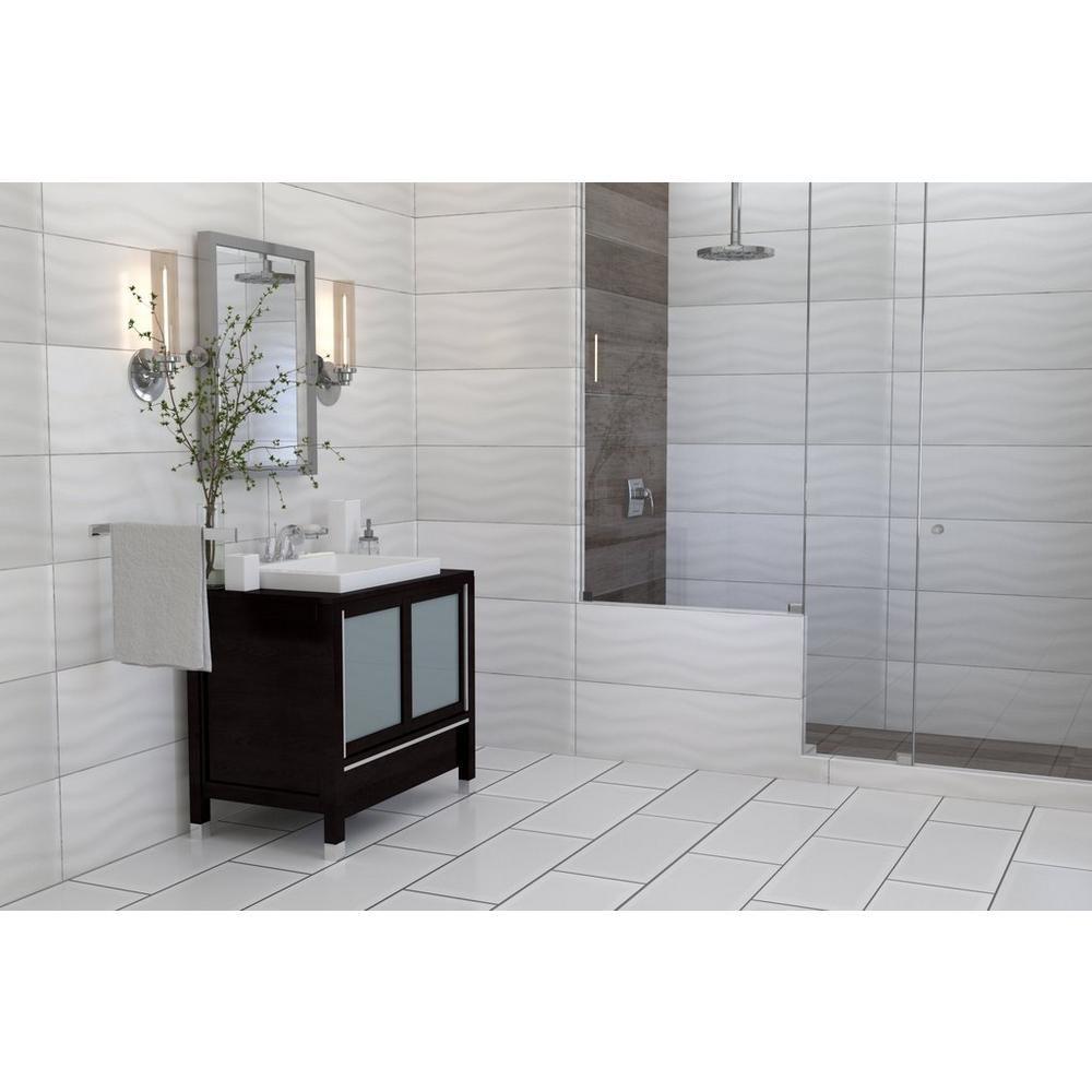 Pure White Polished Ceramic Wall Tile Ceramic Wall Tiles Wall Tiles Tiles
