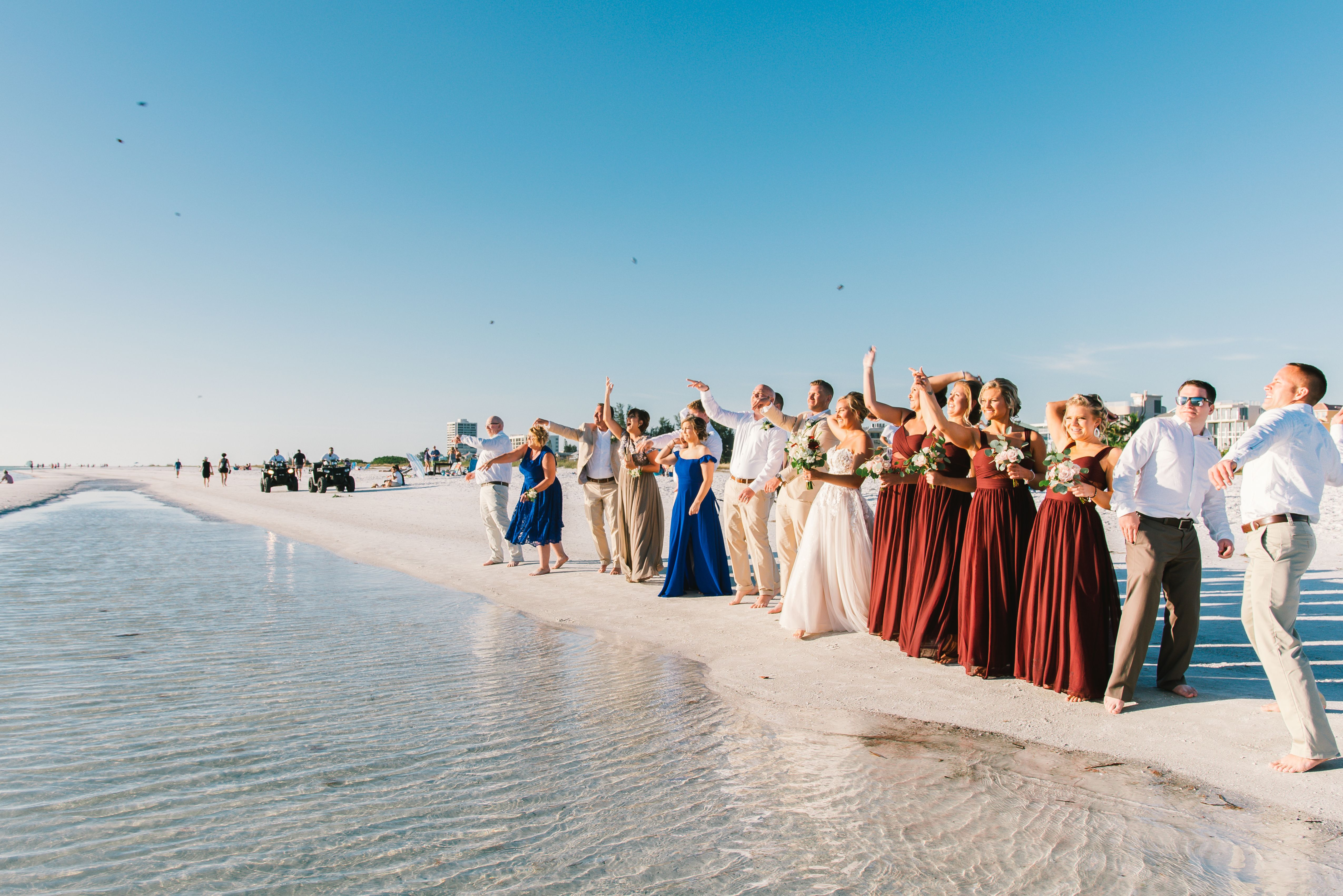 Pin By Tide The Knot Beach Weddings On Real Beach Weddings Beach Wedding Planner Beach Elopement Florida Beach Wedding