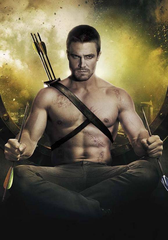 Stephen Amell Arrow Arqueiro Verde Serie Arrow Tv Assistir