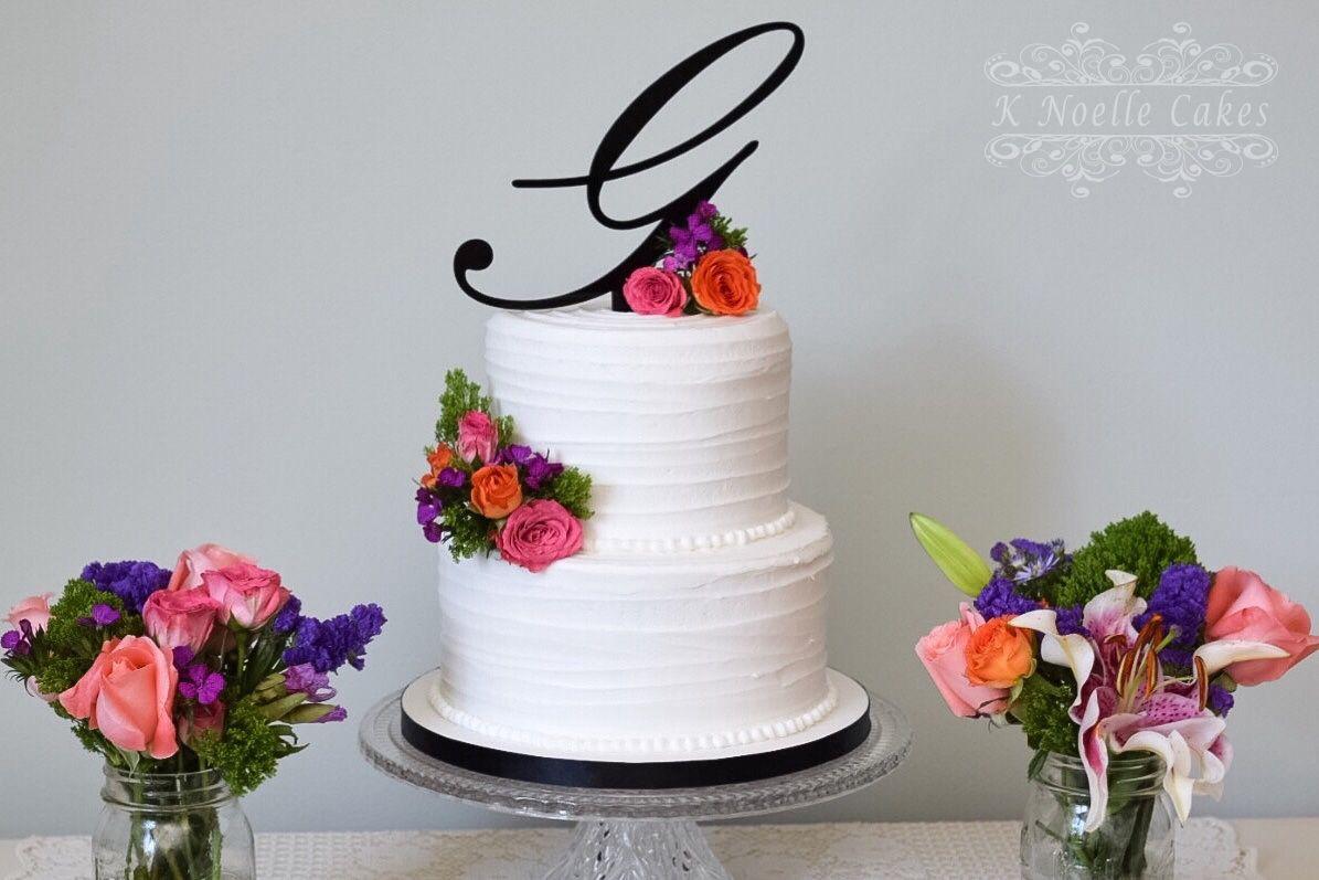 Wedding cake by K Noelle Cakes   Cakes by: K Noelle Cakes ...