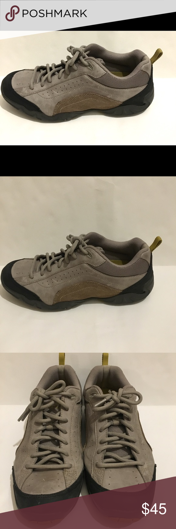 ec7c7d6fd61b Ecco Receptor Technology Women s Size 7-7.5 Ecco Receptor Technology Women s  Size 7-7.5 Leather suede Made In China Good pre-owned condition-no tears  Thank ...