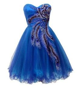 Peacock Dresses for Juniors