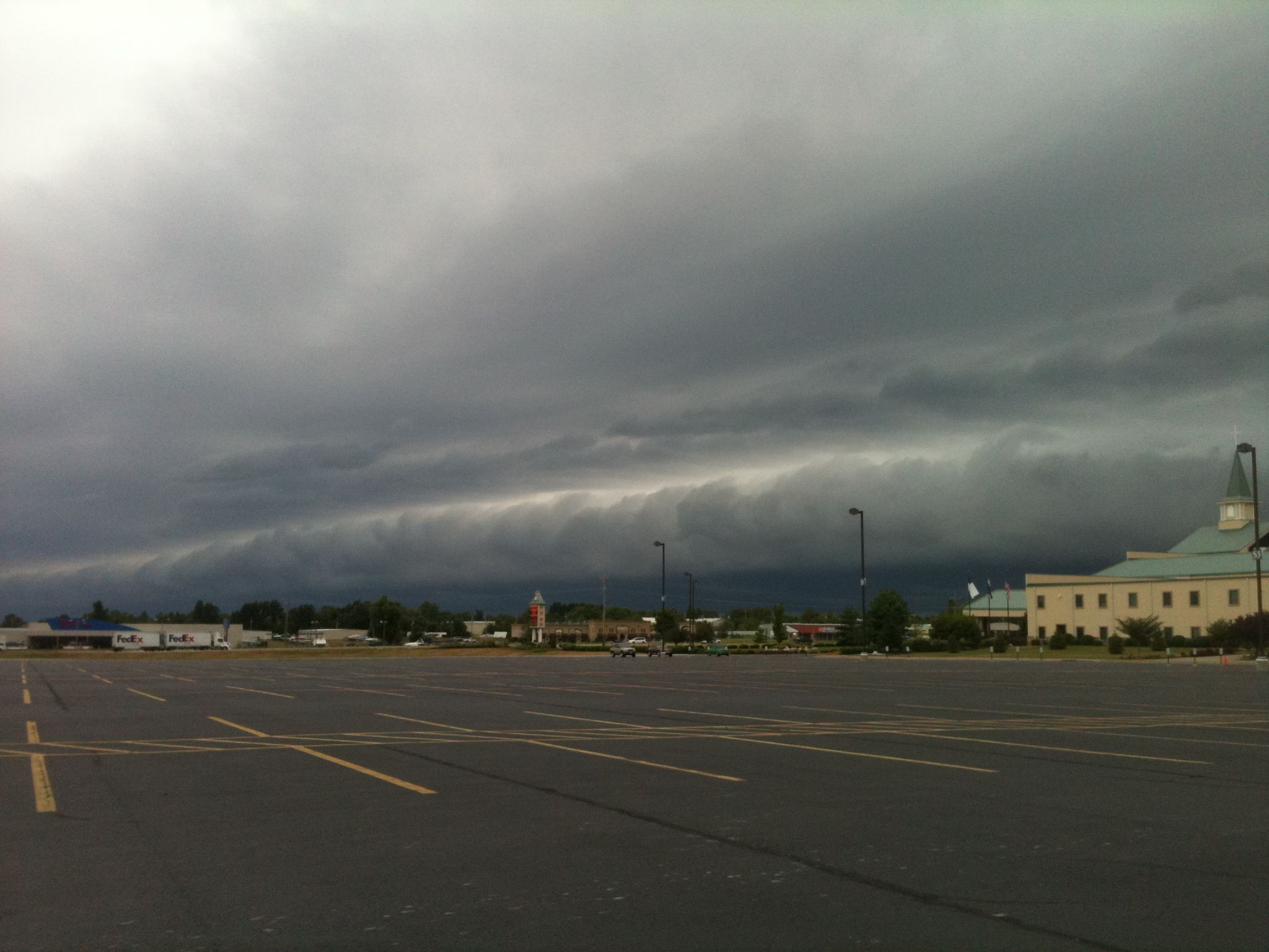 Approaching Storm over North Ozark.