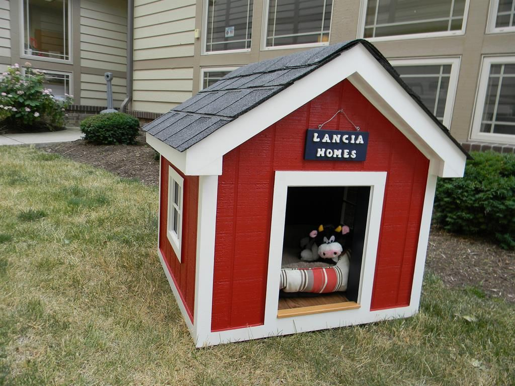Home Design Ideas For Dogs: Dog House DIY & Buy