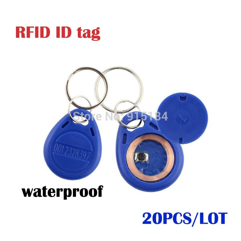 PcsLot Smart Rfid  Khz Id Cards Key Fobs Bluetag Key Fob